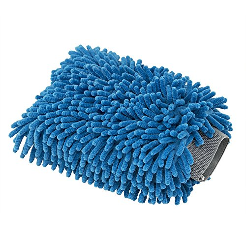 51T6m QvRPL - Chemical Guys MIC497 Blue Microfiber Wash Mitt, 1 Pack
